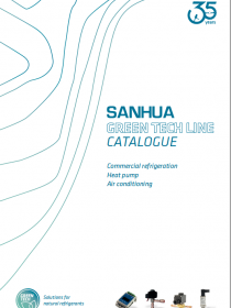 SANHUA Solutions for natural refrigerants - Green Tech Line