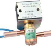 Válvula solenóide série FDF N/O